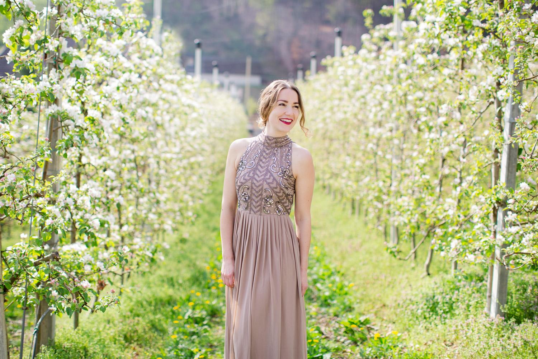 Hochzeit zur Apfelblüte in Bozen